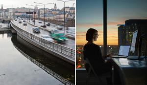 5G möjliggör framtidens uppkopplade stad